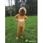 Ростовая кукла Медведь желтый