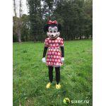 Ростовая кукла Мини Маус платье в горошек