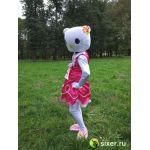 Ростовая кукла Китти в розовом платье