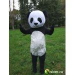 Ростовая кукла Панда с густым ворсом