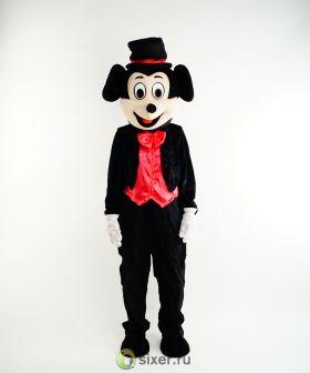 Ростовая кукла Микки Маус в красной рубашке фото №2