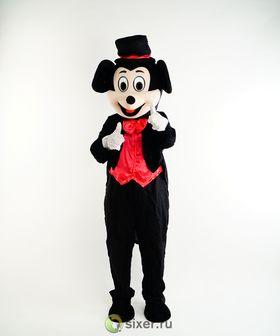 Ростовая кукла Микки Маус в красной рубашке