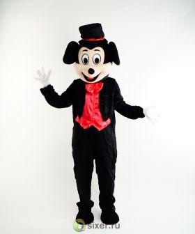 Ростовая кукла Микки Маус в красной рубашке фото №3