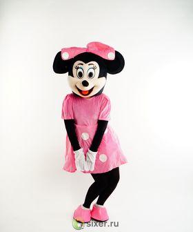 Ростовая кукла Мини Маус в розовом платье