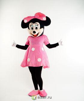Ростовая кукла Мини Маус в розовом платье фото №2