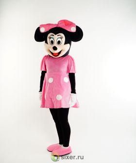 Ростовая кукла Мини Маус в розовом платье фото №3