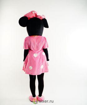 Ростовая кукла Мини Маус в розовом платье фото №4