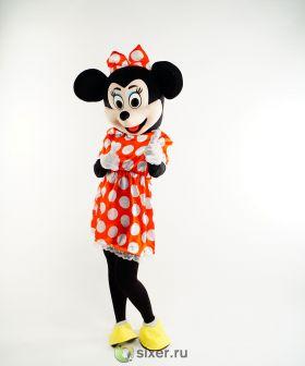 Ростовая кукла Мини Маус платье в горошек фото №7