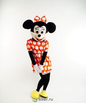 Ростовая кукла Мини Маус платье в горошек фото №8