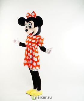 Ростовая кукла Мини Маус платье в горошек фото №9