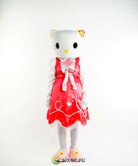 Ростовая кукла Китти в розовом платье фото №5