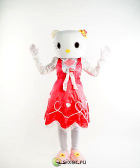 Ростовая кукла Китти в розовом платье фото №6