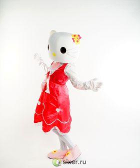 Ростовая кукла Китти в розовом платье фото №8