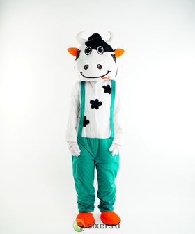 Ростовая кукла Зеленая Корова