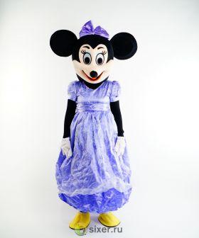 Ростовая кукла Мини Маус в фиолетовом платье фото №4