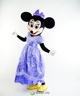 Ростовая кукла Мини Маус в фиолетовом платье