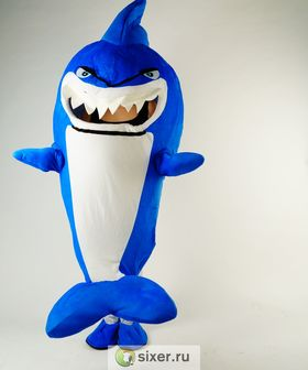 Ростовая кукла Синяя Акула фото №2