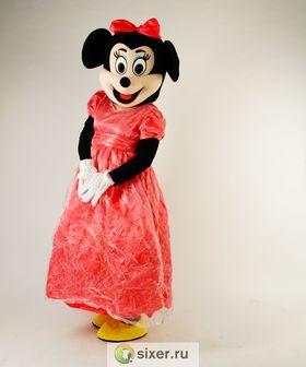 Ростовая кукла Мини Маус розовом платье фото №4