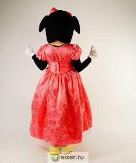Ростовая кукла Мини Маус розовом платье фото №5