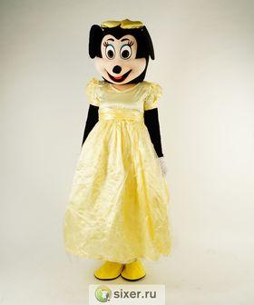Ростовая кукла Мини Маус золотое платье