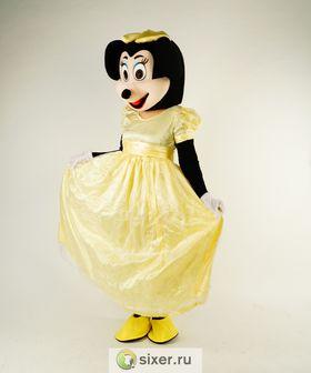 Ростовая кукла Мини Маус золотое платье фото №3