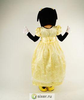 Ростовая кукла Мини Маус золотое платье фото №4