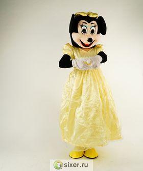 Ростовая кукла Мини Маус золотое платье фото №5