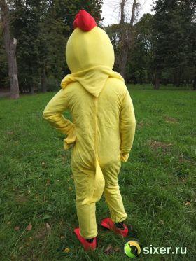 Ростовая кукла Желтый Цыпленок фото №4