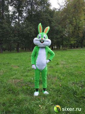 Ростовая кукла Зеленый Кролик фото №2