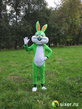 Ростовая кукла Зеленый Кролик фото №3