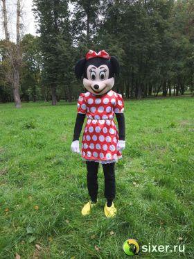 Ростовая кукла Мини Маус платье в горошек фото №2