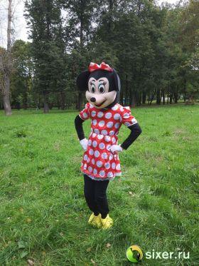 Ростовая кукла Мини Маус платье в горошек фото №3