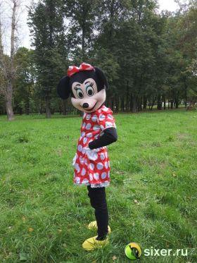 Ростовая кукла Мини Маус платье в горошек фото №5