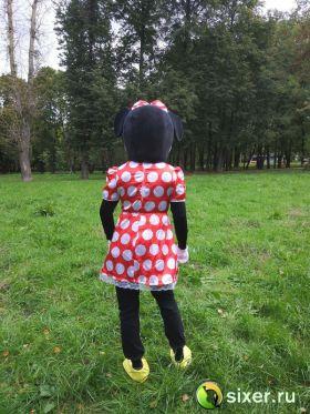 Ростовая кукла Мини Маус платье в горошек фото №6