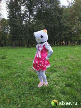 Ростовая кукла Китти в розовом платье фото №2
