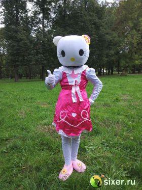 Ростовая кукла Китти в розовом платье фото №3