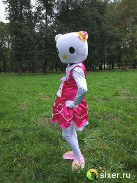 Ростовая кукла Китти в розовом платье фото №4