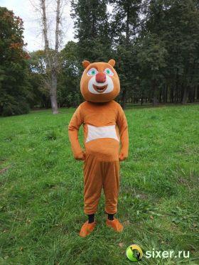 Ростовая кукла Медведь коричневый фото №2