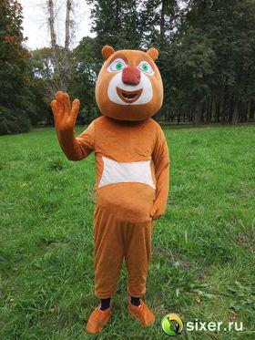 Ростовая кукла Медведь коричневый