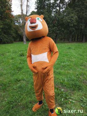 Ростовая кукла Медведь коричневый фото №4