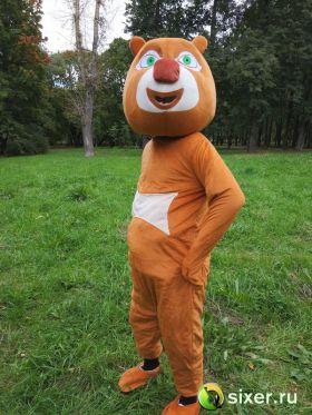 Ростовая кукла Медведь коричневый фото №5
