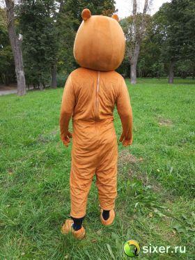 Ростовая кукла Медведь коричневый фото №6