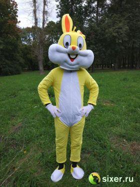 Ростовая кукла Желтый Кролик фото №2