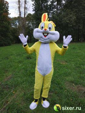 Ростовая кукла Желтый Кролик фото №4