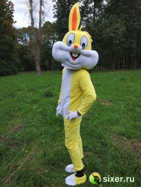 Ростовая кукла Желтый Кролик фото №5