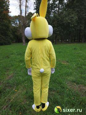 Ростовая кукла Желтый Кролик фото №6