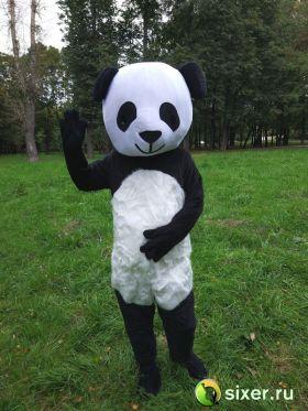 Ростовая кукла Панда с густым ворсом фото №2