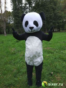 Ростовая кукла Панда с густым ворсом фото №3