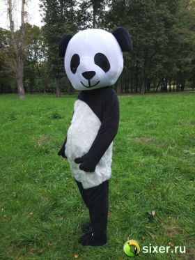 Ростовая кукла Панда с густым ворсом фото №4