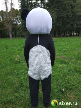 Ростовая кукла Панда с густым ворсом фото №5